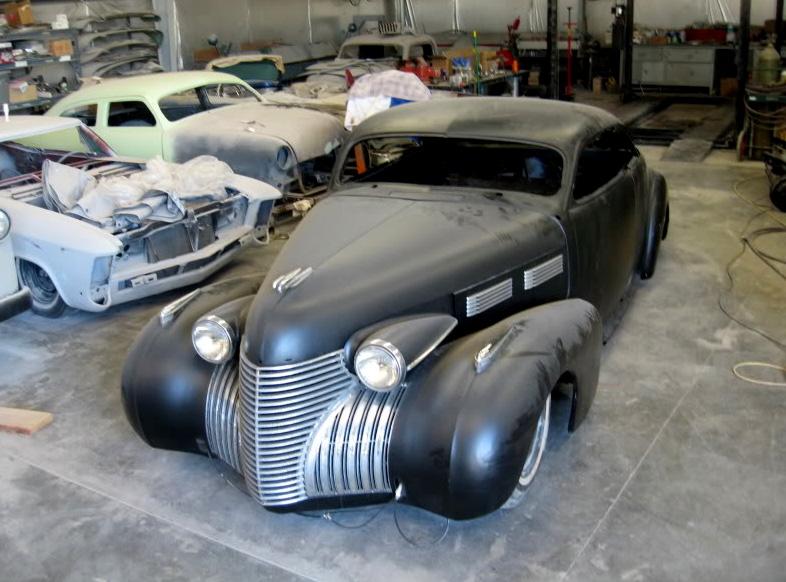Cadillac 1938 - 1940 custom and mild custom John-d11