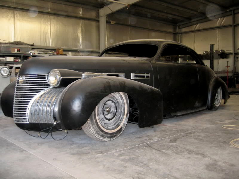 Cadillac 1938 - 1940 custom and mild custom John-d12