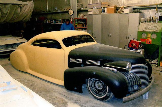 Cadillac 1938 - 1940 custom and mild custom John-d13