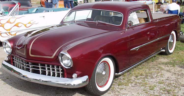 Ford 1949 - 50 - 51 (shoebox) custom & mild custom galerie Kat13710