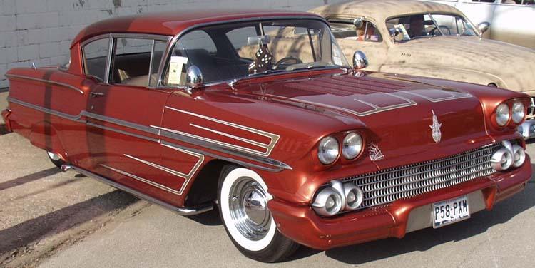 Chevy 1958 custom & mild custom Kat31010