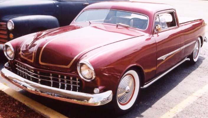 Ford 1949 - 50 - 51 (shoebox) custom & mild custom galerie Kat32310