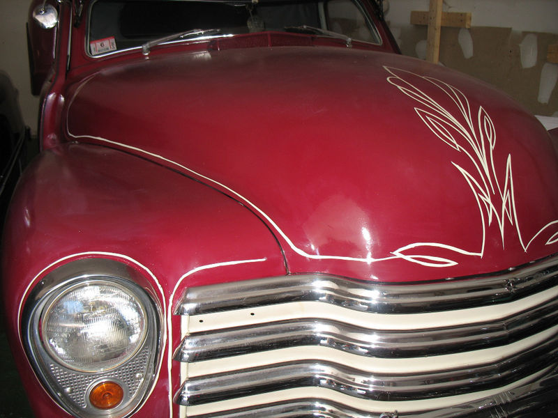 Chevy Pick up 1947 - 1954 custom & mild custom Kgrhqe21