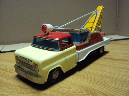 us car -  tôle - Tin Toys -  1950's & 1960's Kgrhqf11