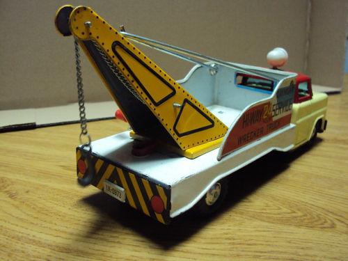us car -  tôle - Tin Toys -  1950's & 1960's Kgrhqf12