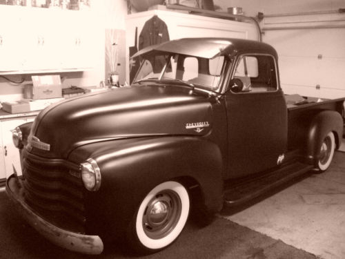 Chevy Pick up 1947 - 1954 custom & mild custom Kgrhqf44
