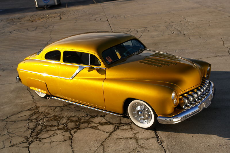 """1949 Mercury - """"GOLD RUSH""""  Kgrhqj33"""