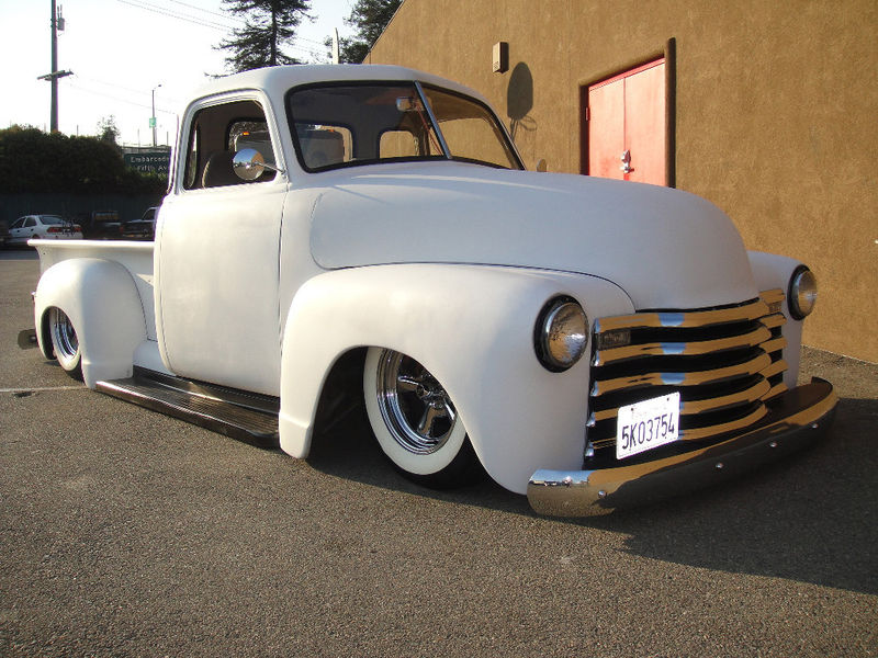 Chevy Pick up 1947 - 1954 custom & mild custom Kgrhqj52