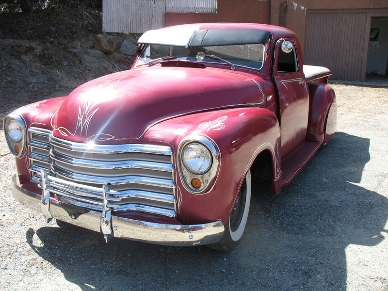 Chevy Pick up 1947 - 1954 custom & mild custom Kgrhqm16