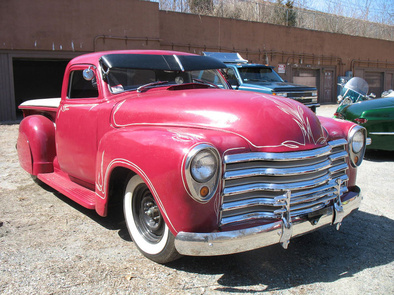 Chevy Pick up 1947 - 1954 custom & mild custom Kgrhqm18