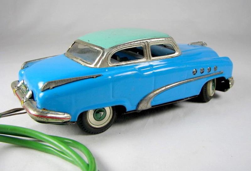 us car -  tôle - Tin Toys -  1950's & 1960's Kgrhqn12