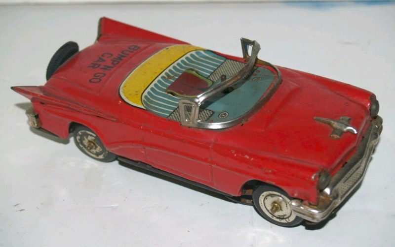 us car -  tôle - Tin Toys -  1950's & 1960's Kgrhqn13