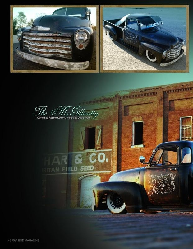 Chevy Pick up 1947 - 1954 custom & mild custom Kgrhqn45