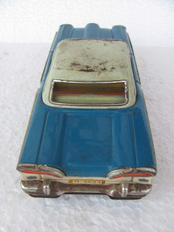 us car -  tôle - Tin Toys -  1950's & 1960's Kgrhqr14