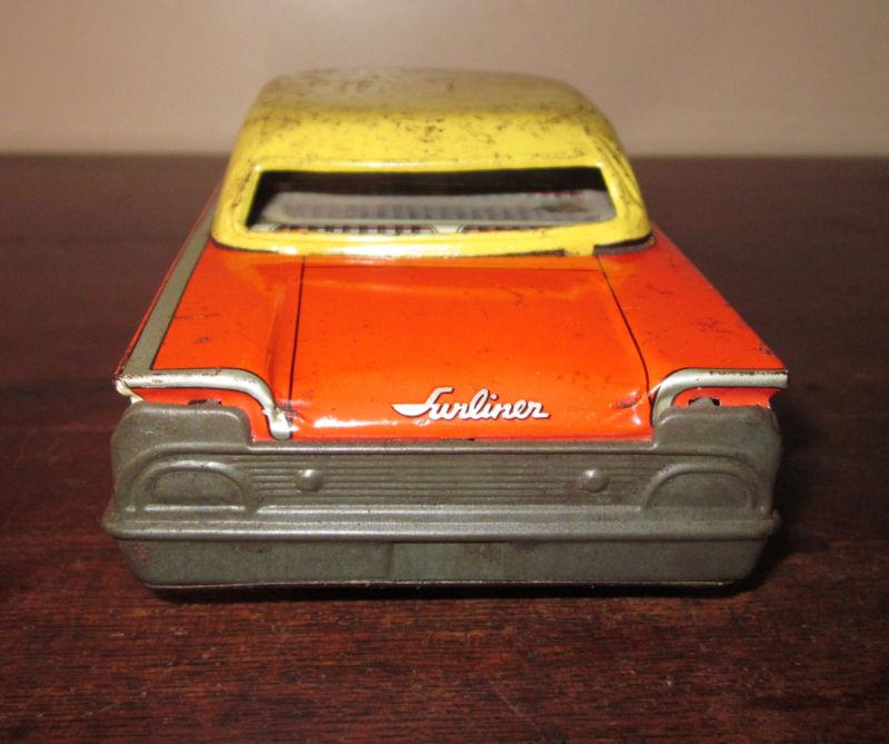 us car -  tôle - Tin Toys -  1950's & 1960's Kgrhqr18