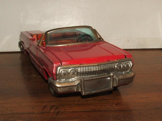 us car -  tôle - Tin Toys -  1950's & 1960's Kgrhqr19