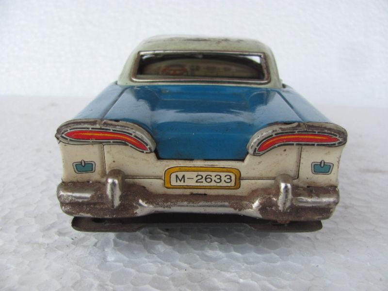 us car -  tôle - Tin Toys -  1950's & 1960's Kgrhqv14