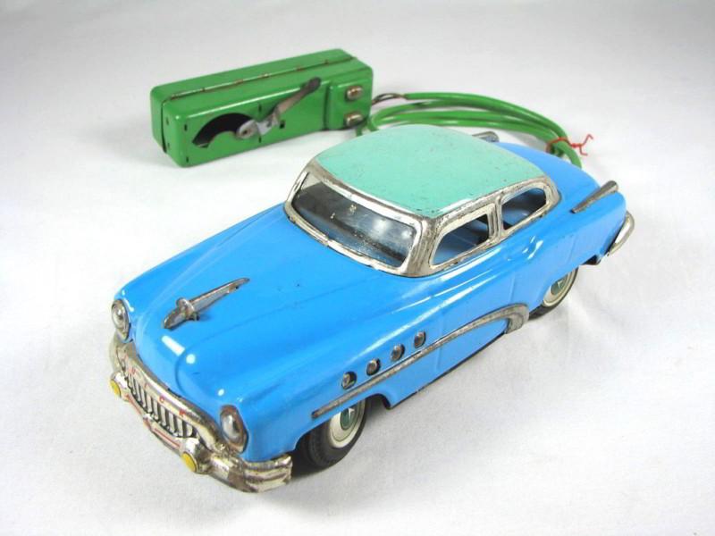 us car -  tôle - Tin Toys -  1950's & 1960's Kgrhqv20