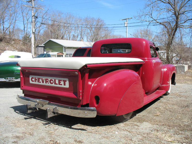 Chevy Pick up 1947 - 1954 custom & mild custom Kgrhqy21