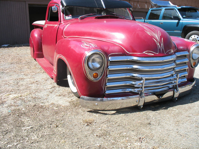 Chevy Pick up 1947 - 1954 custom & mild custom Kgrhqy22