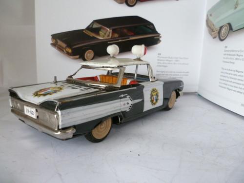 us car -  tôle - Tin Toys -  1950's & 1960's Kgrhqz14