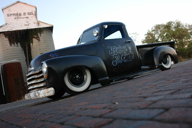 Chevy Pick up 1947 - 1954 custom & mild custom Kgrhqz35