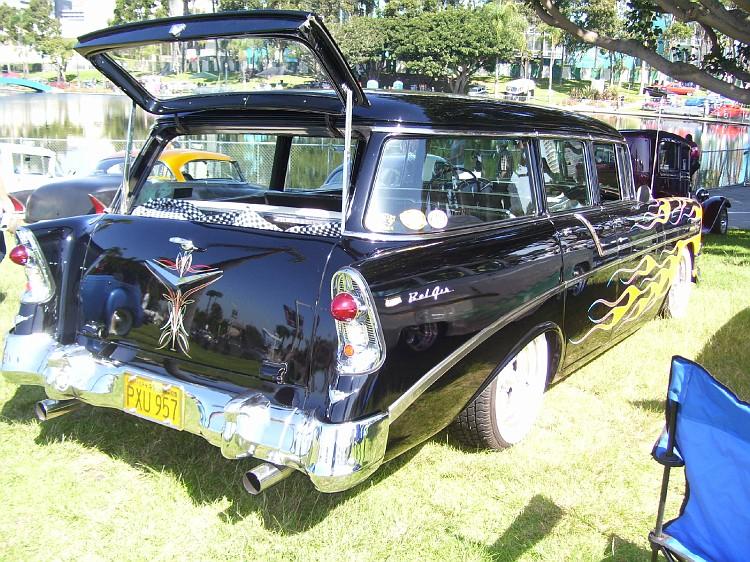 Chevy 1956 custom & mild custom Longbe16