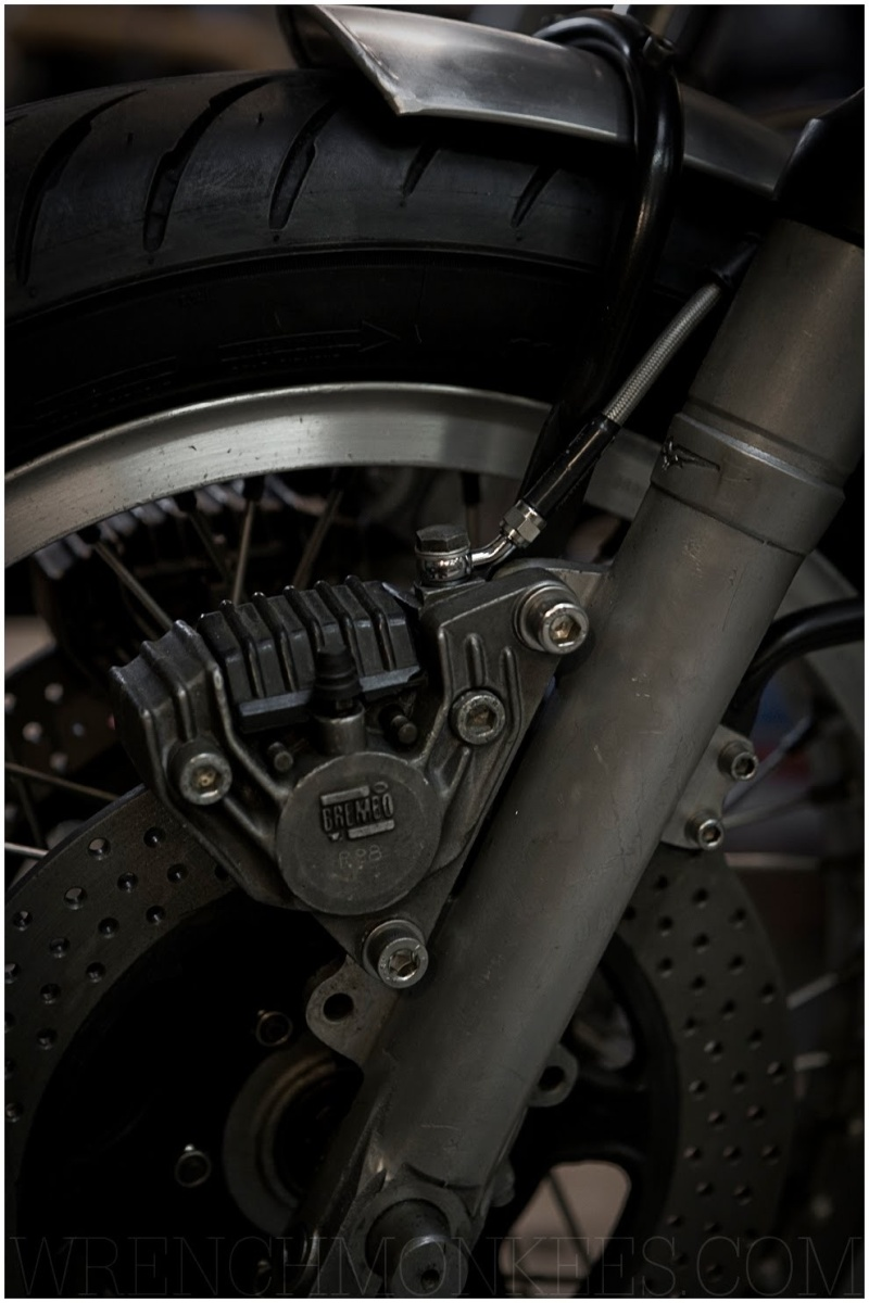 Moto Guzzi 850 T - Cafe racer Mototc12