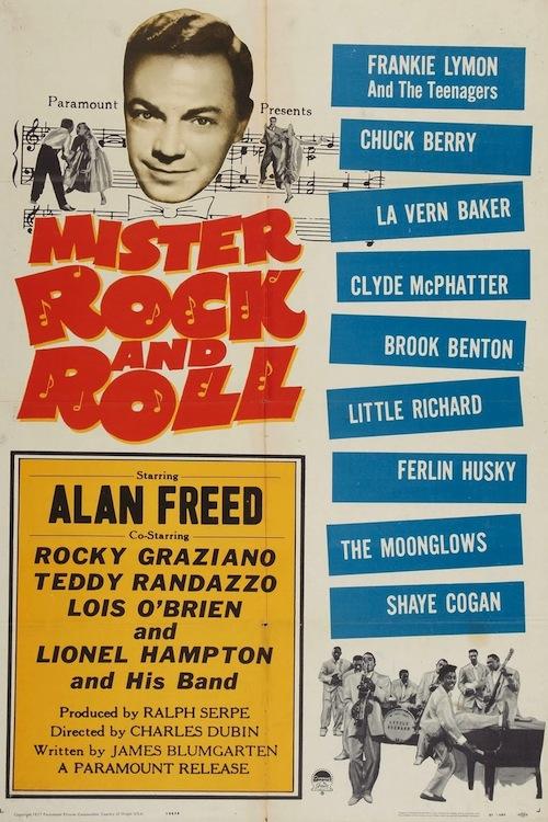 Mr Rock 'n' roll - Alan Freed 1957 Mrrock10