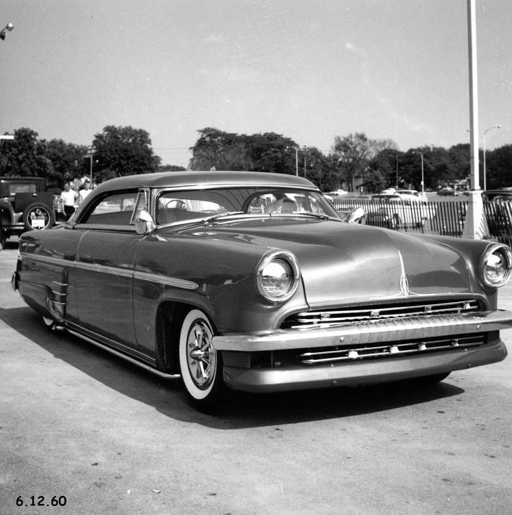 custom cars in the street ( 1950's & 1960's) N7-vi10