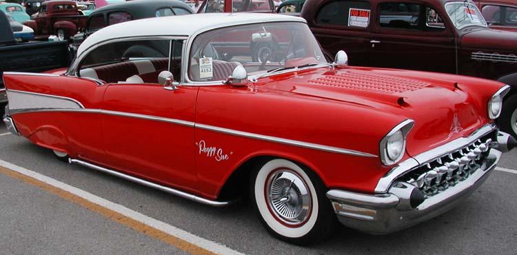 Chevy 1957 custom & mild custom Nat5110