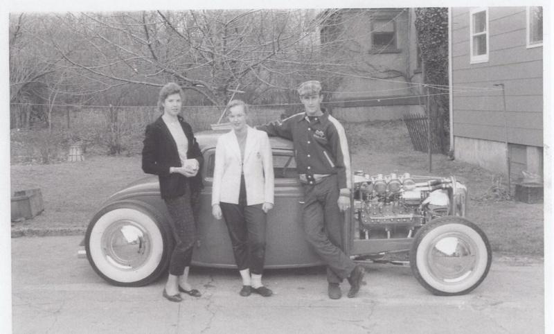 """Hot rod in street - Vintage pics - """"Photos rétros"""" -  Pictur10"""