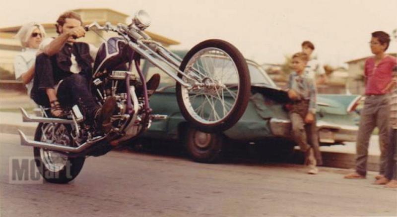 Photo Vintage -vintage pics - Chopper & Bobber Purple10