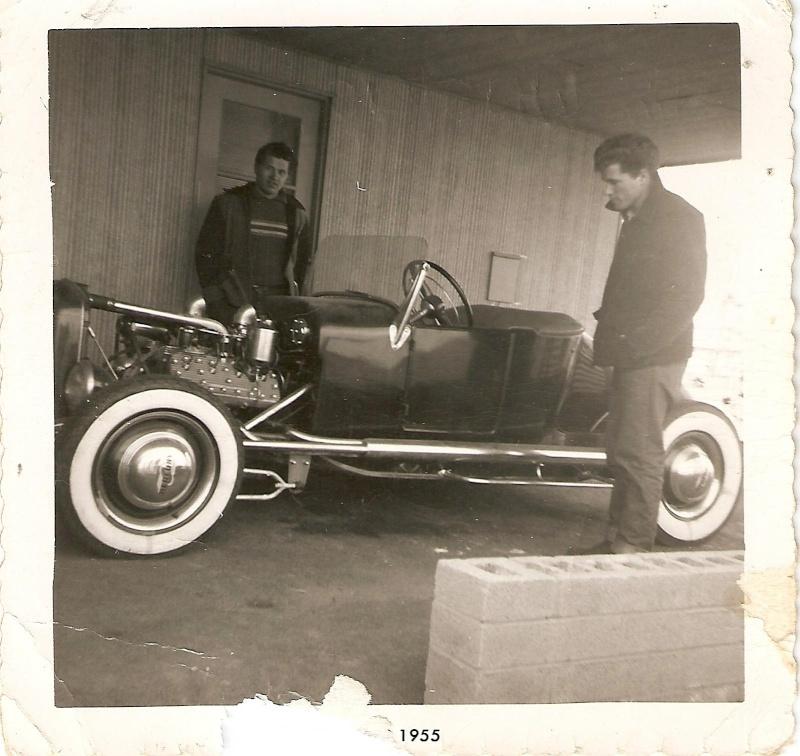 "Hot rod in street - Vintage pics - ""Photos rétros"" -  Scan0010"