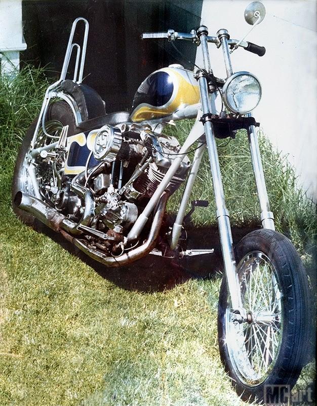Photo Vintage -vintage pics - Chopper & Bobber Shawn-10