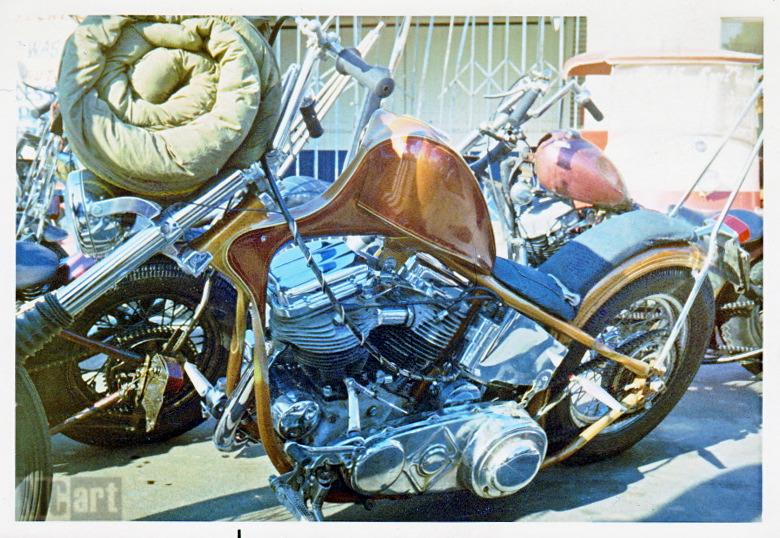Photo Vintage -vintage pics - Chopper & Bobber Skip_s11