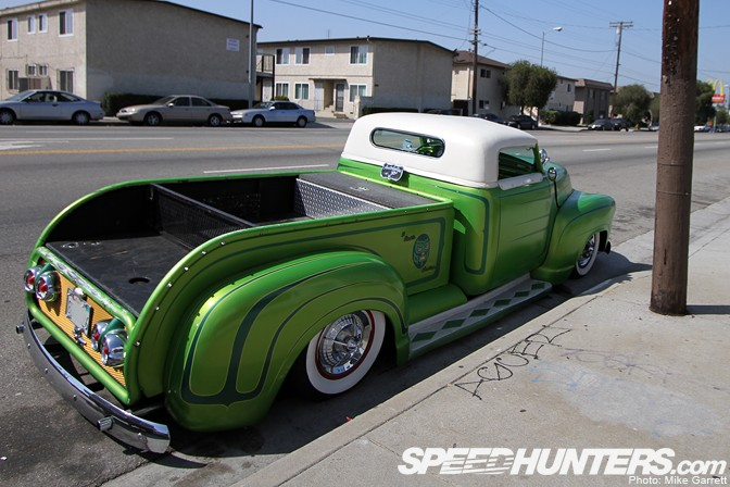 Chevy Pick up 1947 - 1954 custom & mild custom Sl1310