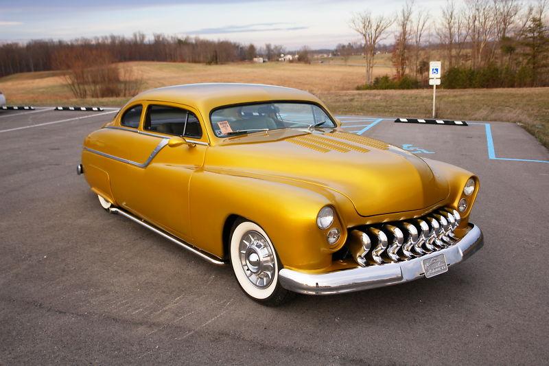 """1949 Mercury - """"GOLD RUSH""""  T2ec1112"""