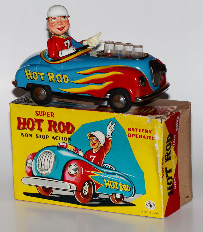 Super Hot Rod - Non stop action by modern toys 1959 T2ec1125