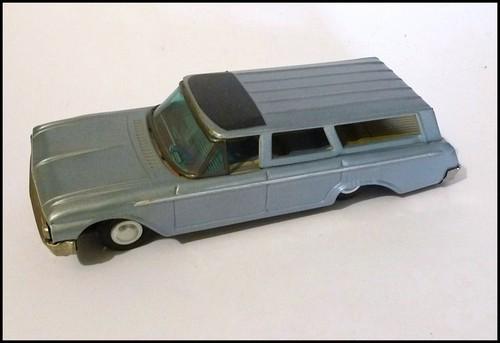 us car -  tôle - Tin Toys -  1950's & 1960's T2ec1613