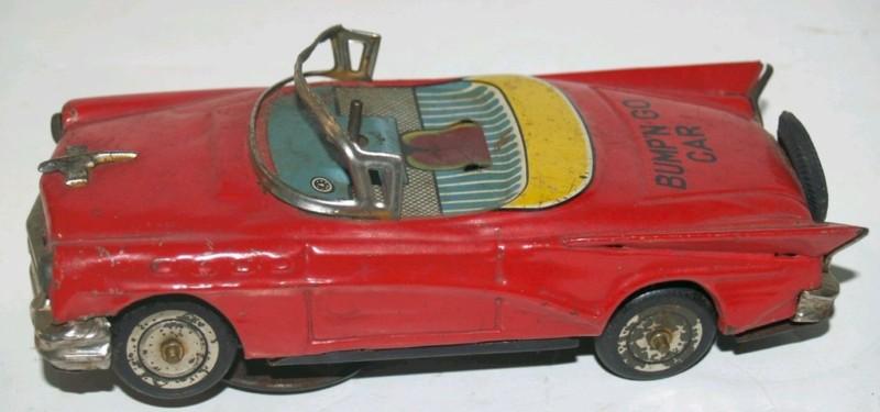 us car -  tôle - Tin Toys -  1950's & 1960's T2ec1615