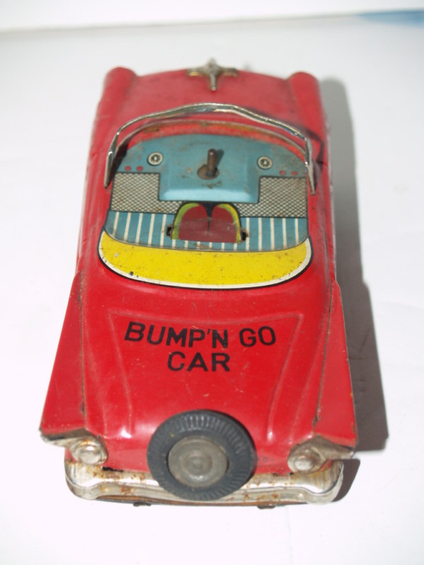 us car -  tôle - Tin Toys -  1950's & 1960's T2ec1616