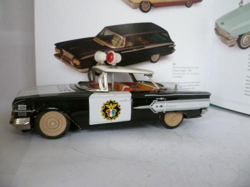 us car -  tôle - Tin Toys -  1950's & 1960's T2ec1631