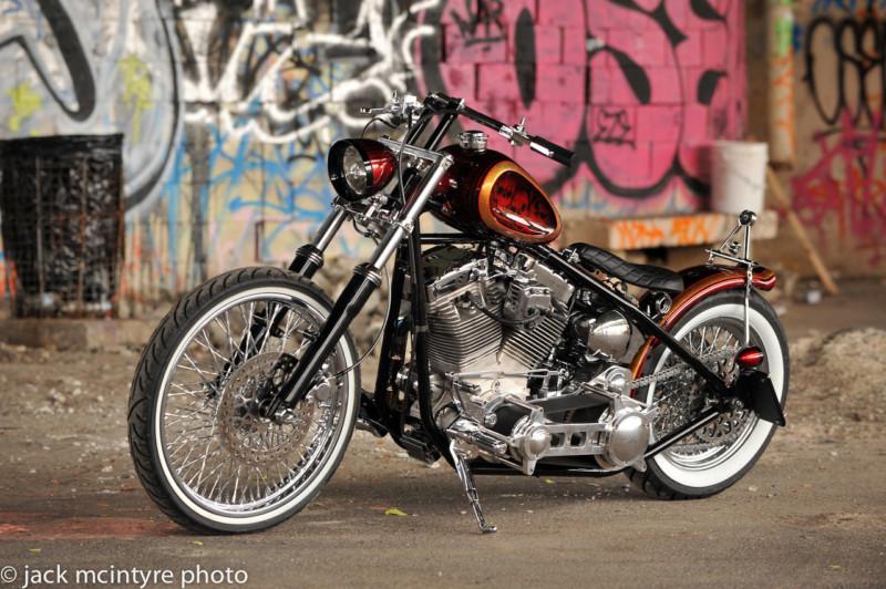 2012 Custom Built Motorcycles Bobber - 120 cc T2ec1658