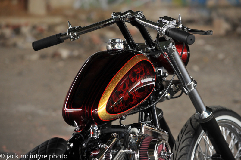 2012 Custom Built Motorcycles Bobber - 120 cc T2ec1660