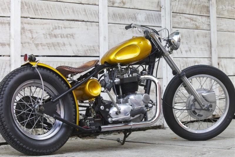 1971 Triumph  Bobber - Shinya Kimura T2ec1669