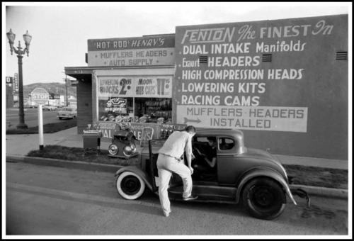 "Hot rod in street - Vintage pics - ""Photos rétros"" -  Tumblr33"