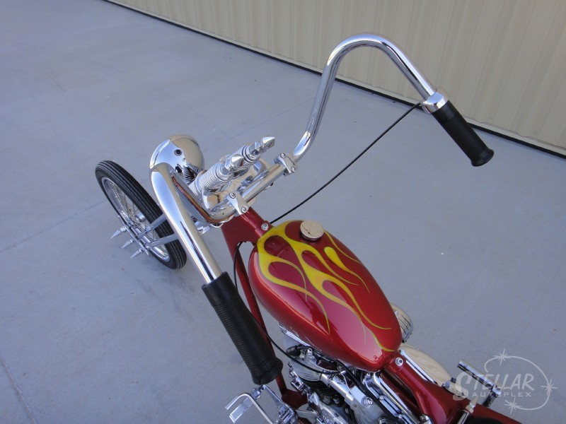 1952 Harley-Davidson FL Pan Head Full Custom Tw_80010