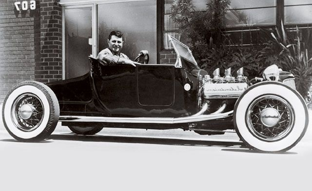 "Hot rod in street - Vintage pics - ""Photos rétros"" -  User1210"