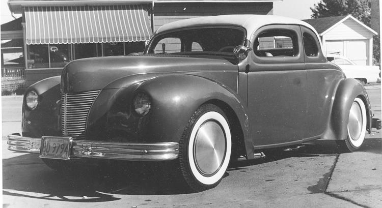 "Hot rod in street - Vintage pics - ""Photos rétros"" -  User1410"
